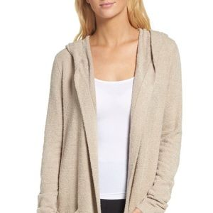 Barefoot Dreams hooded cardigan